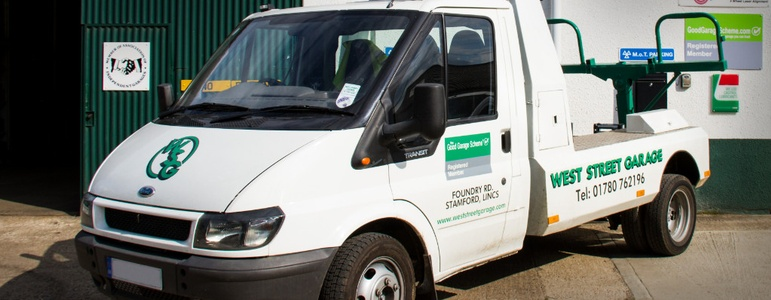 Vehicle Recovery Services in Stamford, Lincolnshire